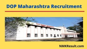 DOP Maharashtra Recruitment